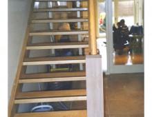 Ash – Custom Open Flight Stairs