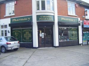 Shopfront Before Cabra Road Dublin