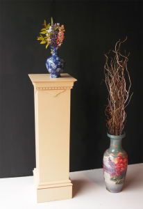 Custom Wooden Pedestal