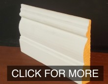 Custom Wooden Moulding: Architrave, Skirting, Handrails, Cornicing and more.