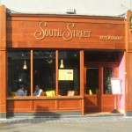 Image of a Hardwood Shop Front in Dublin - South Street Cafe Georges Street