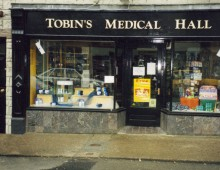 Shopfront: Tobins-Medical-Hall-Carrickmacross