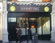 Shopfront – Gourmet Grill, Rathmines, Dublin || Laurel Bank Joinery