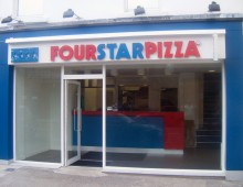 Shop Front: Four Star Pizza, Ballsbridge, Dublin 4 || Laurel Bank Joinery