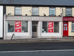 Shopfront Signage, Door and Windows, Carrickmacross, Co Monaghan