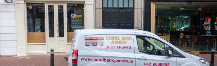 Shopfront Project – Laurel Bank Joinery – Liffey Street Lower Dublin
