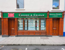 Wooden Shop Front – Traditional Varnished Hardwood Design