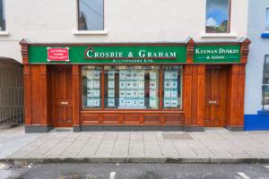 Shop Front Wood Varnished Front View