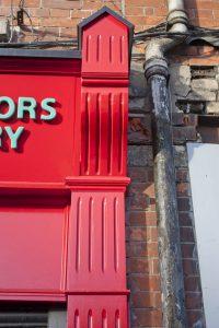 Shop Front Dublin Amiens Street Corbel