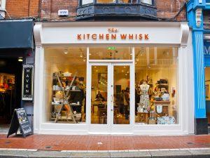 Shop Front Wicklow Street Closed Doors