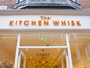 Shop Front Wicklow Street Kitchen Whisk Signage Detail