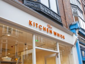 Shop Front Wicklow Street Kitchen Whisk Signage Profile