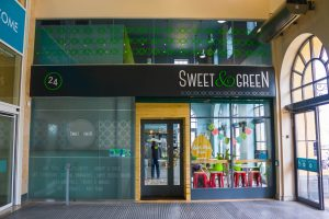 Shop Front - Sweet and Green Dundalk