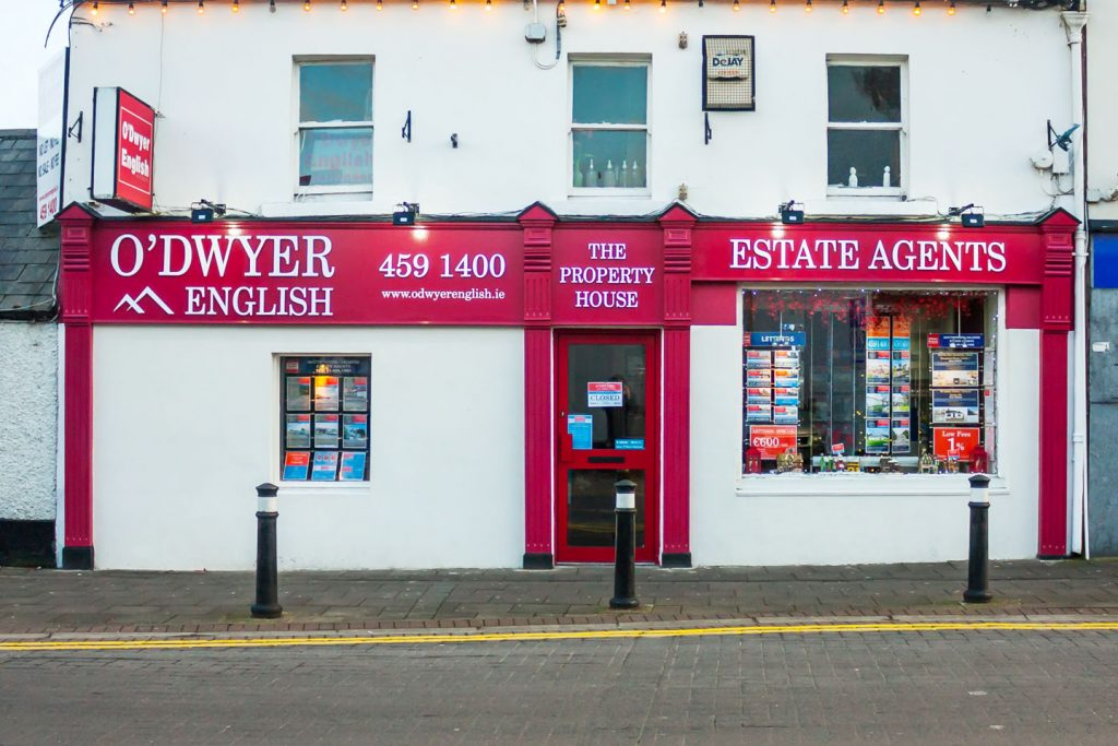 Shop Front Clondalkin O'Dwyer English