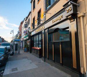 Shop Front Dublin Arran Quay P. Duggans