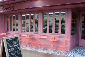 Bifolding windows - Shop Front - Laurel Bank Joinery - Cinnamon Monkstown -Dublin