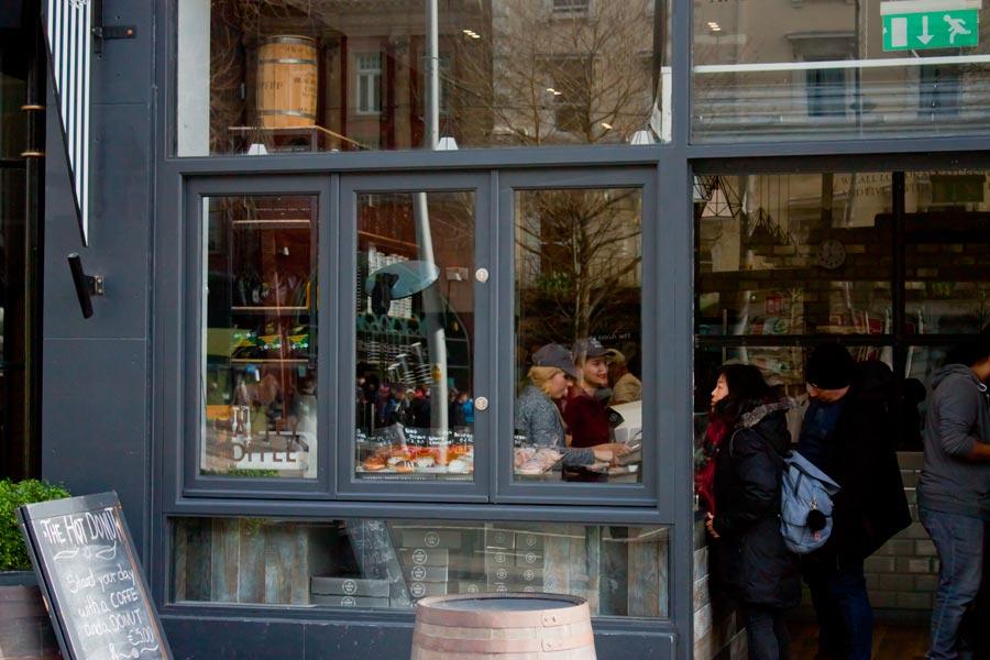 Bi-Fold Windows Closeup - Shop Front - O'Connell Street Dulbin