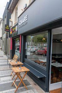 Modern Shop Front - Square Restaurant Dundalk - Laurel Bank Joinery