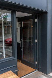 Glass Door Shop Front
