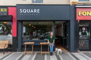Modern Shop Front - Square Restaurant Owner - Laurel Bank Joinery