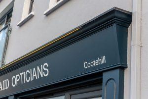 Shop Frot Cavan Signage Detail
