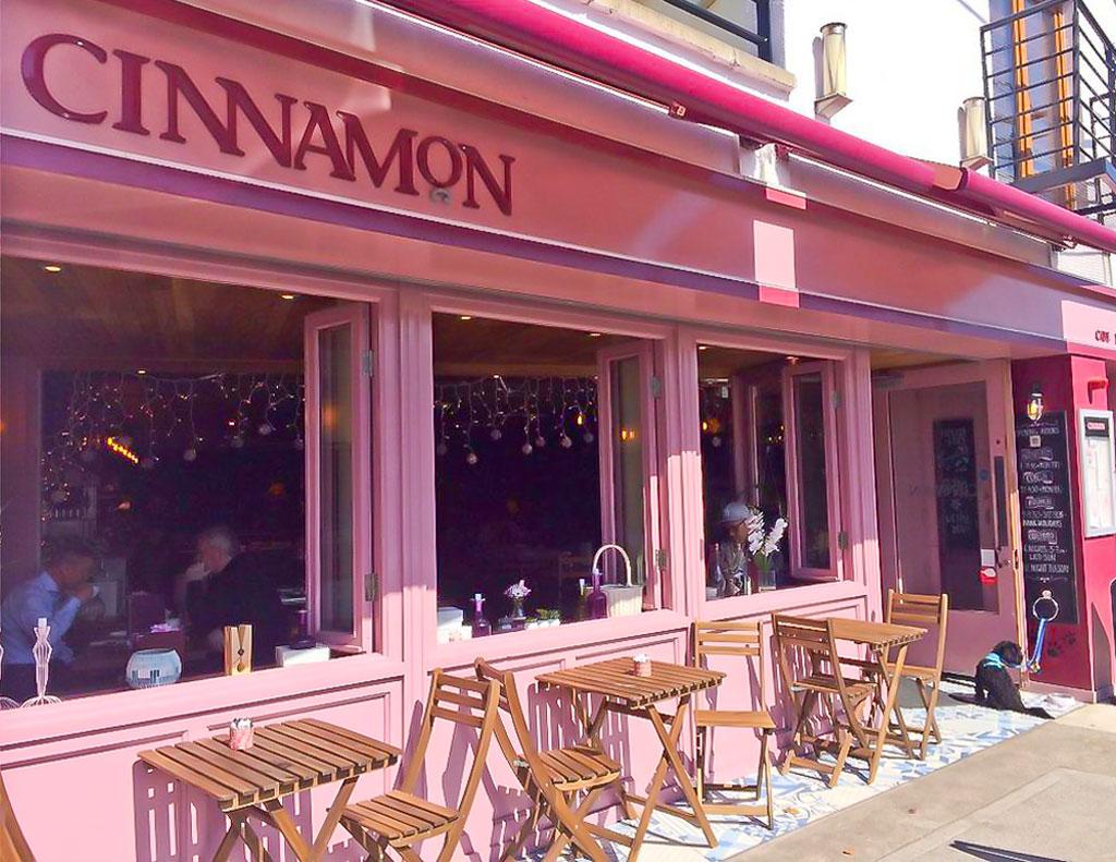 Bi-Folding Windows Open Shop Front - Laurel Bank Joinery - Cinnamon Monkstown -Dublin