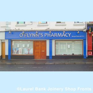 Image of a Pharmacy Shop Front- O'Flynns Pharmacy - Louth