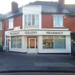 Image of a Pharmacy Shop Front - Cullens Pharmacy Cabra Road Dublin