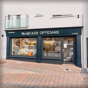 Image of a Shop Front in Cavan - McQuaid Opticians Cootehill