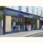 Image of Irish Shop Front - Superquinn Supermarket Highfield Road, Rathgar, Dublin