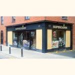 Image of Irish Shop Front - Superquinn Supermarket, Orwell Road, Rathgar, Dublin