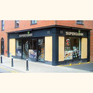 Image of Irish Shop Front - Superquinn Supermarket, Orwell Road, Rathgar, Dublin