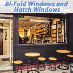 Image of a bi-folding hatch window in a cafe - Ariosa Coffe Drogheda