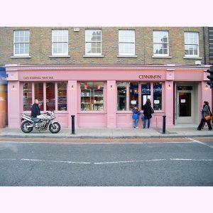 Image of a Shop Front in Dublin - Cinnamon Cafe Ranelagh, Dublin