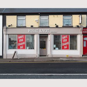 Image of an Irish Shop Front - Carrickmcross Monaghan