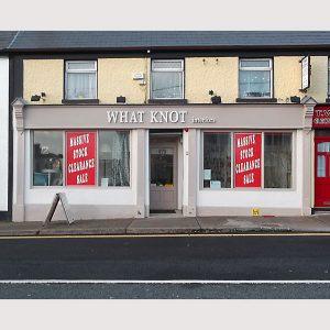 Image of an Irish Shop Front - Carrickmacross Monaghan