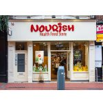 Image of a shopfront in Dublin - Nourish Health Food Store Wicklow Street