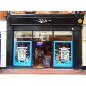 Image of an Irish Shopfront - Kiehls Wicklow Street Dublin