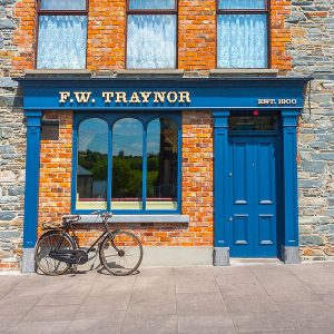Image of a Traditional wooden shop front - F.W. Traynor's Pub