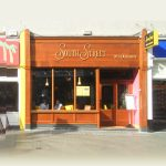 Image of a Wooden Shop Front in Dublin - South Street Cafe Great Georges Street South