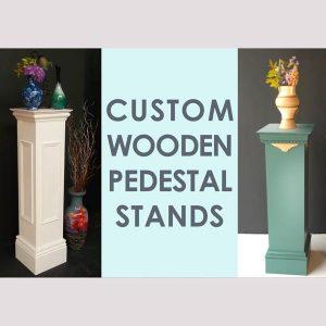 Image of Wooden Pedestals